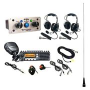 Pci Race Radios 2577 Trax Ultimate Radio Packag W 2 Headset/helmet Cables