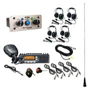 Pci Race Radios 2578 Trax Ultimate Radio Packag W 4 Headset/helmet Cables