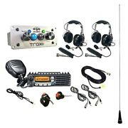 Trax Ultimate Radio Packag W 2 Headset/helmet Cables Dsp Upgrades