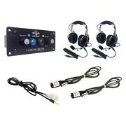 Pci Race Radios Supreme Radio Package 2 Headset/helmet Cables Dsp + Bluetooth