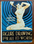 Figure Drawing For All It's Worth - Andrew Loomis 1958 18th Printing - Vintage
