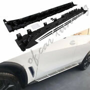 Aluminum Running Boards Side Step Nerf Bars Fit For Bmw All New X5 G05 2019 2020