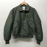 Used Flyerand039s Summer Weather Cwu-36/p Jacket / Aramid Size Large Us Army D-74