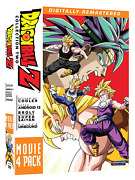 Dragon Ball Z Movie Pack Collection Two Movies 6-9 Dvd