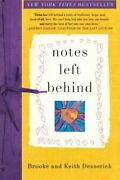 Notes Left Behind Desserich Desserich Keith 9780061886409 Free Shipping-