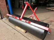 3 Point +tractor Towbar 24 Dia.6 Ft Land Farm Field Roller Paddock Menage Arena