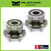 Set Of 2 Front Wheel Bearing And Hub Assembly For Toyota Prius 2010-2015 5 Bolts