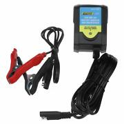 Seachoice 14383 Battery Charger And Maintainer Includes Alligator Clips Cec...