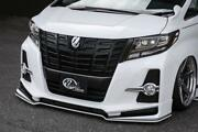 Kuhl Racing Front Half Spoiler For The Toyota Alphard 30