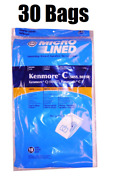 30 Dvc Bags For Sears Kenmore Vacuum Cleaner Bags 5055 50557 50558 C Q Canister