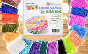 Loom Rubber Bands 12750pc Rubber Band Refill Kit In 26 Colors With 500 Clips 6