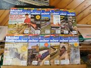Model Railroader Magazine Complete Year 2006 12 Issues