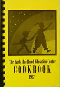 Rare Dedham Mass 97 Early Childhood Center Community Cookbook And Quick Craft Book