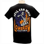Lowbrow Customs Hell Can Wait T-shirt