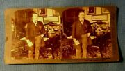 Stereoview President Theodore Roosevelt Cabinet Room White House Underwood Photo