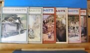 Narrow Gauge And Short Line Gazette Complete Year 1987 6 Issues