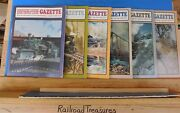 Narrow Gauge And Short Line Gazette Complete Year 1989 6 Issues