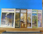 Narrow Gauge And Short Line Gazette Complete Year 2000 6 Issues