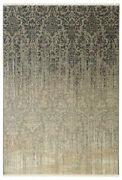 Karastan Gray Transitional Casual Distressed Faded Area Rug Floral 39400 16009