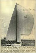1971 Press Photo American Sloop Yankee Girl During The Admiraland039s Cup Series