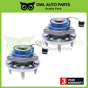 2 Front Wheel Bearing Hub Assembly For Buick Chevy Pontiac Cadillac Olds W/ Abs