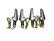 Led Sequential Full Set 4 Indicators For Suzuki Ts 250 Points Model 1969 - 1970