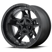 20 Inch Black Rims Wheels Lifted Toyota Truck Tacoma 4runner Fits Nissan Truck
