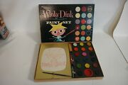 1950s Vintage Winky Dink And You Paint Set Toykraft Cbs Tv Mib Af75