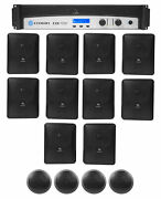 Crown Cdi1000 500w 70v Commercial Amplifier+10 Jbl Wall + 4 Ceiling Speakers