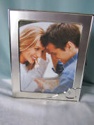 Lenox Forevermore Photo Album 4x 6 Plus Pics Silverplated Heart New Old Stock