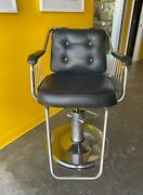Pair Of Usedmid-century Modern Barber Chairs Located In Newport Beach 750 Each