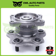 1pc Rear Wheel Bearing And Hub For Nissan Altima Maxima Quest 5 Lug W/ Abs Brakes