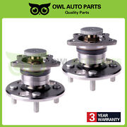 New Rear Wheel Hub And Bearing Pair Set Of 2 For Geo Chevy Toyota Corolla W/ Abs