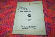 Early Industrial Tool Catalog J.h. Day - Day Hunter Sifters And Mixers