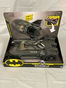 Batman Batmobile And Batboat 2-in-1 Transforming Vehicle For 4in. Action Figures
