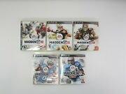Madden Nfl 10, 11, 12, 13 And 25 - Sony Playstation 3 - Ps3 Bundle Lot