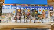 Model Railroader Magazine Complete Year 2007 12 Issues