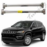 Stainless Steel Crossbars Cross Bars Roof Racks Fits For Jeep Compass 2017-2019