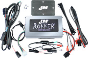 Jandm 800w 4 Channel Motorcycle Amplifier Kit 16-19 Harley Touring Road Glide