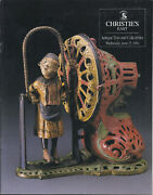 Christie's Antique Toys Collectibles Mechanical Banks Collection Catalog 1994