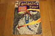 Fantastic Four 47 2nd Appearance Of The Inhumans 1961 1st Series