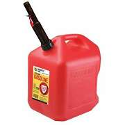 Midwest Can Company 5610 5-gallon Gas Can Fuel Container Jug W/ Quick-flow Spout