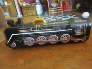 Train Engine Japan Old Original Very Rare Vintage Battery Operated Tinplate Toy