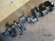 Gently/used Eagle Forged 350 Crank/low Miles W/4 Stroke Has 1-piece Adapter