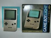 Game Boy Light Gold Gold With Box And Instructions Operation Confirmed Console