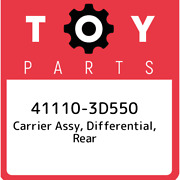 41110-3d550 Toyota Carrier Assy, Differential, Rear 411103d550, New Genuine Oem