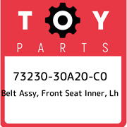 73230-30a20-c0 Toyota Belt Assy Front Seat Inner Lh 7323030a20c0 New Genuine
