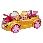 Happy Places Shopkins Royal Trends Convertible Car Playset