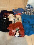 Lot Boys Clothes Size 7-10 Crewcuts Lacoste Old Navy