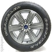 4 New Takeoff Ford F150 Fx4 20 Factory Oem Grey Wheels Rims Tires Free Ship
